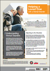 Helping a Loved One with a Mental Disorder